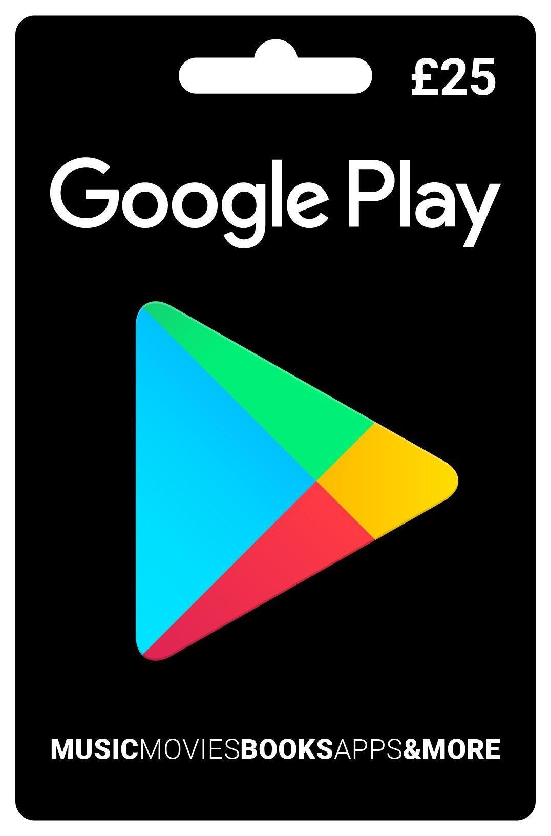 £25 Google Play Voucher. Review thumbnail
