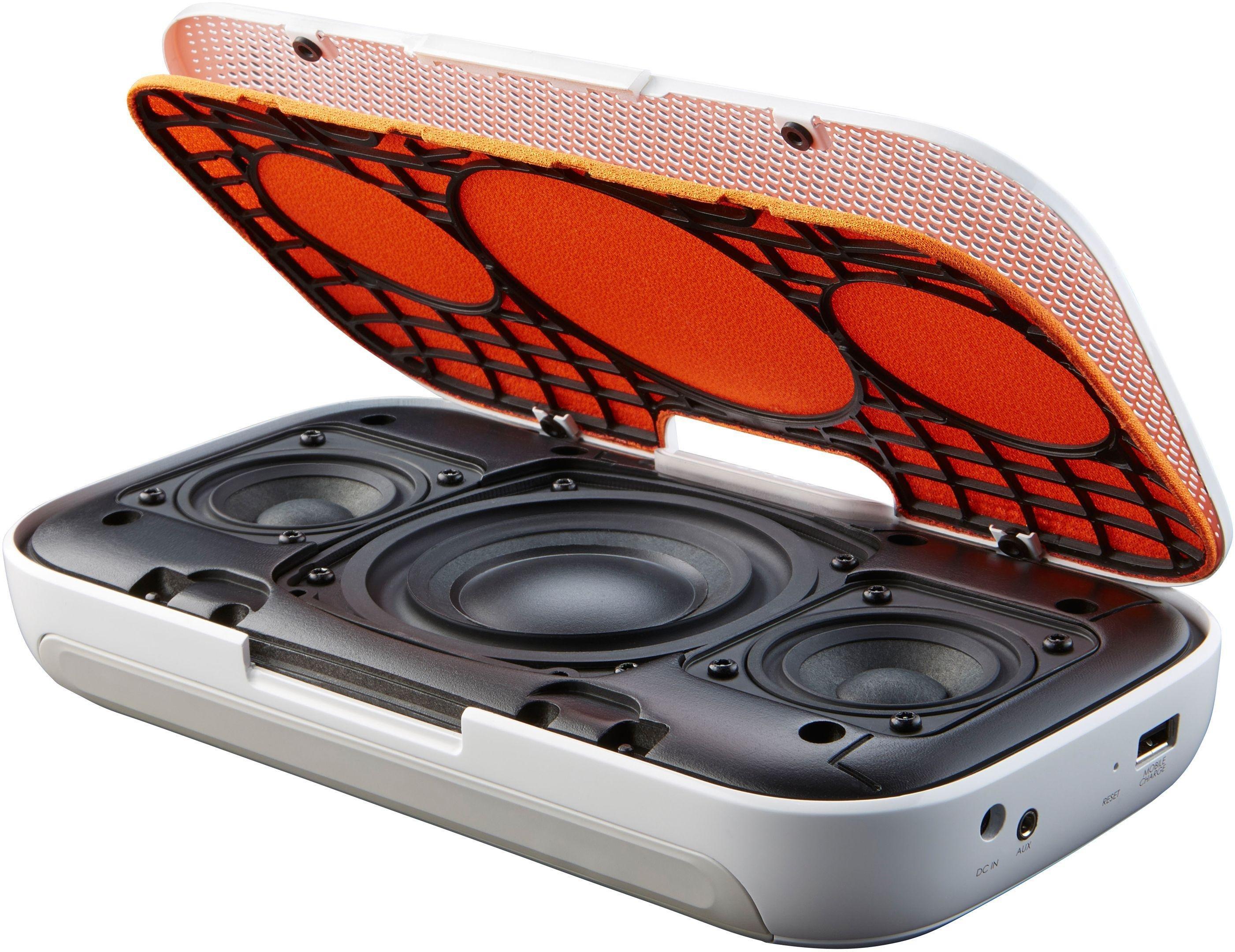 Denon - Envaya Portable Bluetooth Speaker - White Review thumbnail