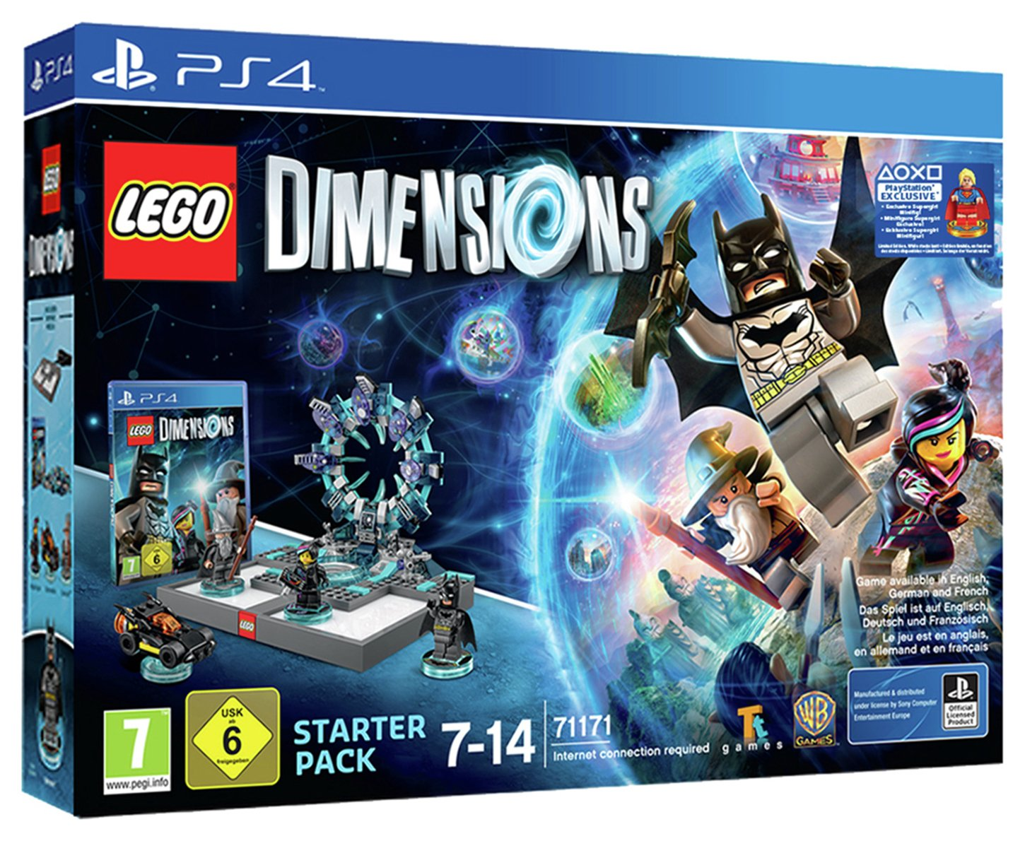 LEGO - Dimensions Supergirl - PS4 - Starter Pack Game Review thumbnail