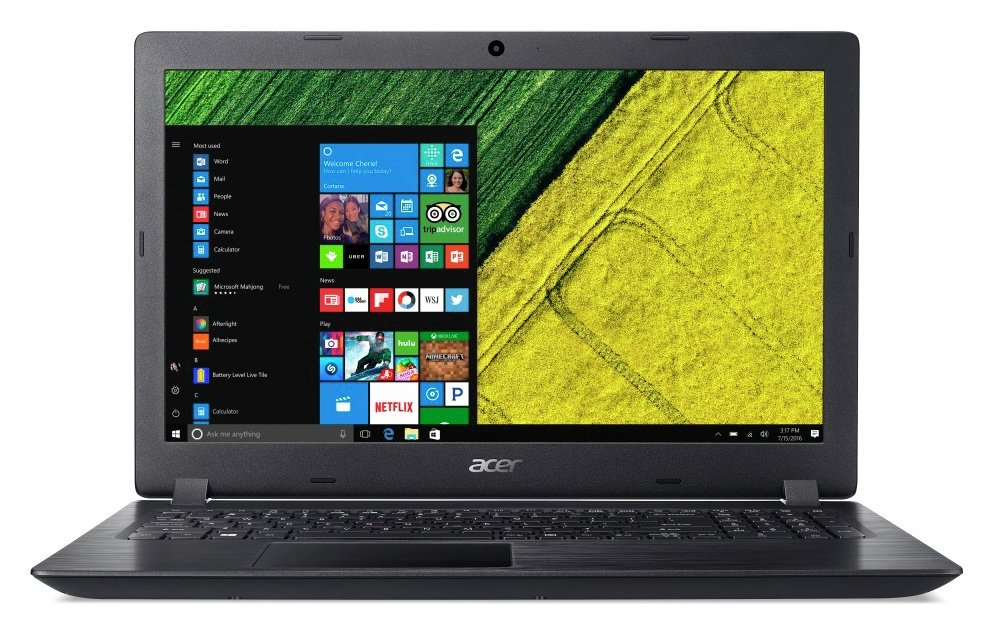 Acer Aspire 3 15.6 Inch AMD E2 4GB 500GB Laptop - Black Review thumbnail